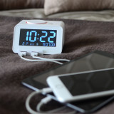 [무아스] 홈타임 C1 Pro 알람시계 블루투스 스피커 핸드폰충전