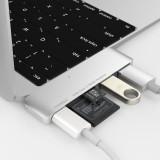 무아스 USB 3.0 Type-C 허브 어댑터 카드리더기