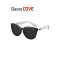 Glassescove 글래시스코브 선글라스 104 블랙 화이트 미러렌즈(색상선택