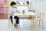 에그스타 유아 책상 의자 세트
