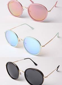 린다 미러 선글라스 - 3color