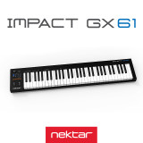 NEKTAR IMPACT GX61 마스터키보드 컨트롤러, FP-2 페달 증정이벤트
