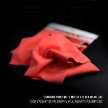 소낙스 초극세사타월(RED) - 1PCS 세차타월 세차도구 셀프세차 차량세차 세차용품 수입차용품 [아우토몰]