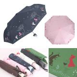 까르페디엠 늑대와소녀 3단전자동 우산