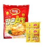하림 팝콘치킨 200g 1봉(톡톡팝콘치킨4봉 증정) 총1kg