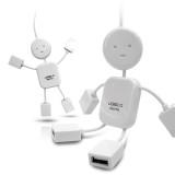 FLAITO아이맨USB허브/4포트/usb/멀티/hub/유에스비/컴퓨터/사람모양/모바일/디지털