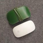 (헬로앤트디자인스튜디오)이탈리아 베지터블 가죽 애플 매직마우스 파우치 Green