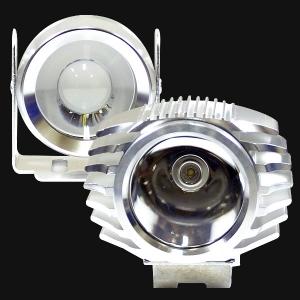12V-24V 바이크용 LED써치 크롬 : 필도
