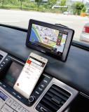 [마이딘] 2016년 신제품 스마트폰연동 네비게이션 iX100T SLink 정전식 터치+DMB+TPEG+무료업데이트