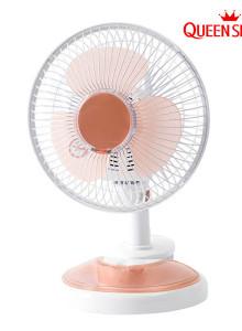 캠프핫ㆍ퀸센스클립 선풍기 QSFS800/20cm/핑크/냉풍기/탁상용선풍기/스탠드선풍기/벽결이선풍기/여름가전/팬선풍기