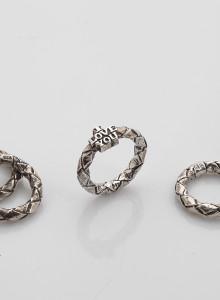 新 가락지 3mm 2-ring set