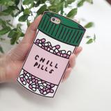 아이폰5/5s/SE/6s/6/플러스 chill pills 약통 케이스