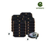 앙블랑 아기물티슈 블랙 휴대 캡형 24매x20팩 BMC20