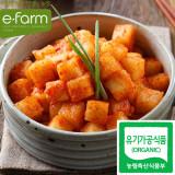 [이팜] [예약상품 D-2] 유기농 깍두기5kg (담채원)