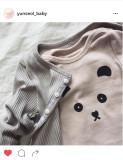 [윤설]베이비 판다 티셔츠/베이비판다티셔츠/팬더티/비쥬블랑쉬/베이비티셔츠/베베티셔츠/100일아기옷/돌쟁이옷/아기옷선물/윤설베이비/베이비티/아기티셔츠