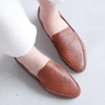 [바닐라슈] 브리지티 H펀칭 로퍼슈즈(2cm)