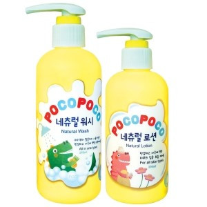포코포코 네츄럴 유아동 워시 & 로션 SET