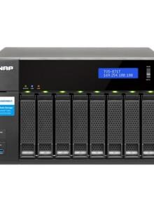 큐냅 QNAP TVS-871T-i7-16G (케이스) 8베이 NAS 나스 네트워크하드 클라우드