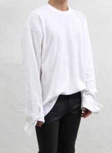 루즈핏 커프스 티셔츠 3color