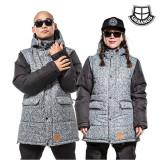 [어반어스/보드자켓] 1516 RUSH-DARK GRAY 스키보드용 자켓/남여공용