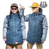 [어반어스/보드자켓] 1516 MACHO-DENIM BLUE 스키보드용 자켓/남여공용