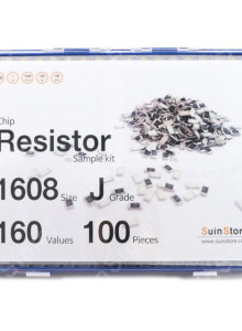 칩저항 키트 1608(0603) 사이즈 J급(5%) 160종 (100~500개入) /칩저항키트/저항키트/칩저항세트/저항세트/저항/칩저항/샘플키트/100개/200개/300개/500개