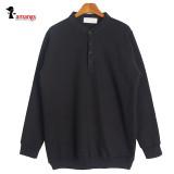 기모 맨투맨 L1353 빅사이즈 남성 차이나넥 티셔츠