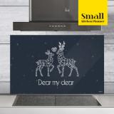 주방아트보드 키친플래너 / 나의 소중한 사슴 / Small