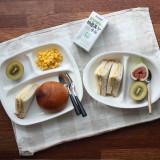 일본 런치 나눔접시(식판/간식접시) 140도 전자레인지사용가능