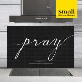 주방아트보드 키친플래너 / 기도 블랙 / Small