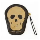 [당일배송] -세일- 마크앤로나 스컬러치 골프 해골 스컬 클러치 (브라운) - MARK & LONA Skulutch 골프 잡화 악세사리 가방