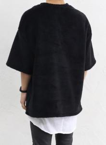 피오갓 쉘파 양털 반팔티 2color