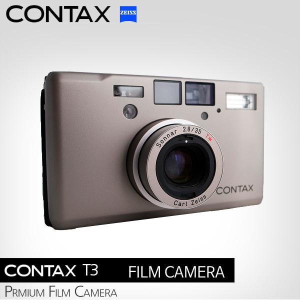 CONTAX T3 DATE(실버)신품급/콘탁스T3 /매장운영 : 마루카메라