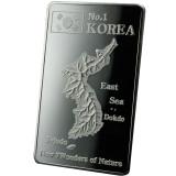 [국제금거래소]대한민국 독도 100g 실버바