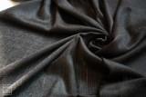인도 카슈미르산 - 오리지널 블랙 100% 퓨어 턱수염 파시미나 / 고급 캐시미어 머플러