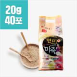 [햇고을] 현미플레이크 도라지 마죽 (20gx40포)