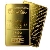 국제금거래소 고급 프레스 골드바 37.5g 순금 999.9%