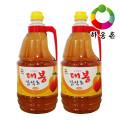 [하동장터] 구산농장 하동 대봉감식초 (1.8LX2병)