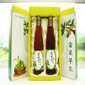 [햇차원] 매실엑기스500ml x 2병 (선물용케이스)