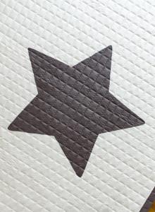 순면 트윙클 스타 별 카페트(패드/러그)