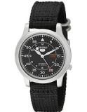세이코 오토매틱 스테인리스 시계 SNK809 블랙 남성시계