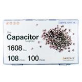 칩세라믹(캐패시터) 샘플키트 1608(0603) 사이즈 108종 (100개입,300개입) /칩캐패시터키트/캐패시터키트/칩세라믹키트/세라믹키트/칩세라믹세트/샘플키트/100개/300개