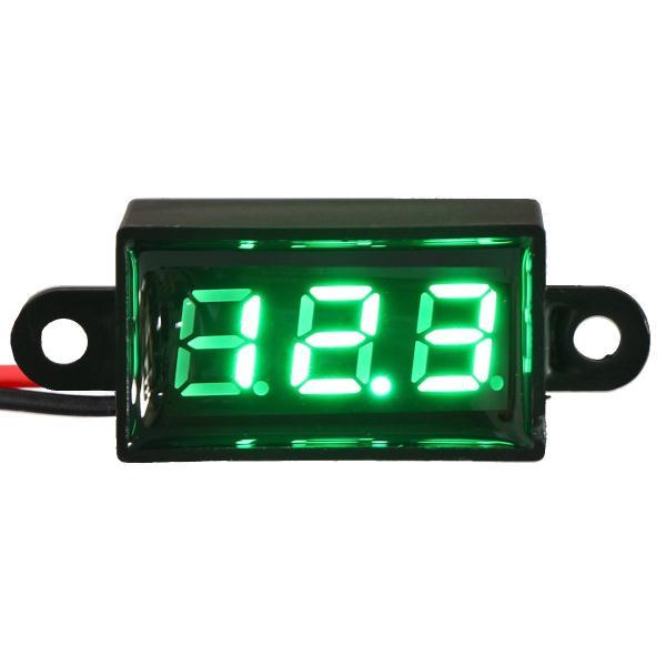 [해외][기타부품]마이크로 전압계 녹색 디지털 0.28 &볼트 모니터 방수 방진 내진성 배터리 전원 테스터 자동차 오토바이 차량 : 미경 스토어 - 네이버쇼핑