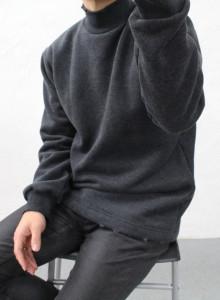 빈티지 기모 반폴라 맨투맨 4color
