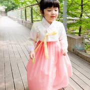연지 여자어린이한복