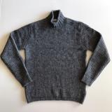 램스울 하프넥 스웨터