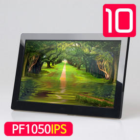 미니모니터 PF1050IPS 광시야각 10인치모니터 디지털액자 겸용