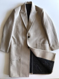 소프트 울 싱글 코트 (wool 100%)