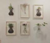 [KT&G 상상마당 디자인스퀘어] 우레탄 벽걸이 꽃병 (단품)