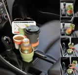 차아네 차량용 5단 멀티 컵홀더 멀티테이블 다용도홀더 콘솔박스 컵거치대 수납용품 편의용품 컵홀더거치대 다용도컵홀더 차량컵홀더 차량용컵홀더 자동차용품 차량용품